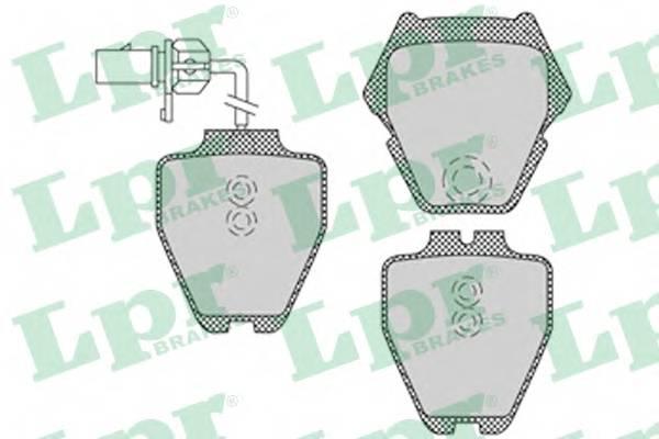 Тормозные колодки Тормозные колодки PAGID арт. 05P1121