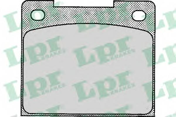 Тормозные колодки Тормозные колодки дисковые LPR арт. 05P113