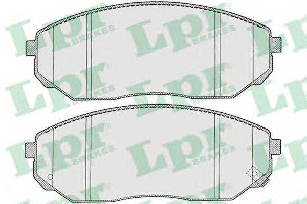 Тормозные колодки Тормозные колодки дисковые PAGID арт. 05P1207