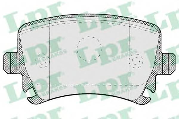 Тормозные колодки Тормозные колодки дисковые PAGID арт. 05P1219