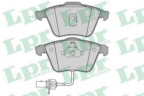 Тормозные колодки Тормозные колодки ABE арт. 05P1230