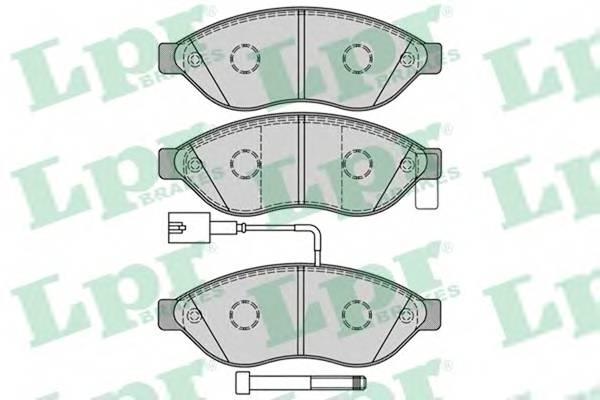 Тормозные колодки Тормозные колодки ABE арт. 05P1287