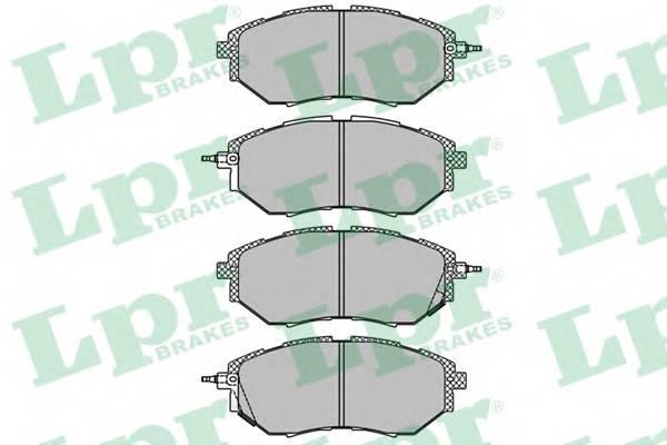 Тормозные колодки Тормозные колодки дисковые ABE арт. 05P1402