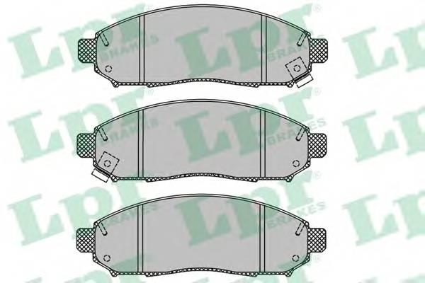 Тормозные колодки Тормозные колодки дисковые ABE арт. 05P1495