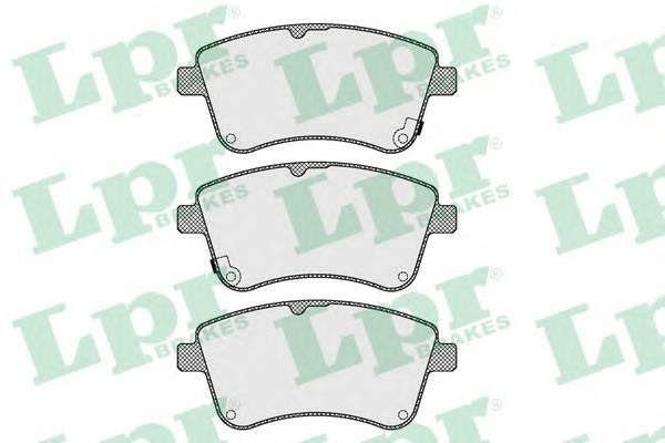 Тормозные колодки Тормозные колодки ABE арт. 05P1623