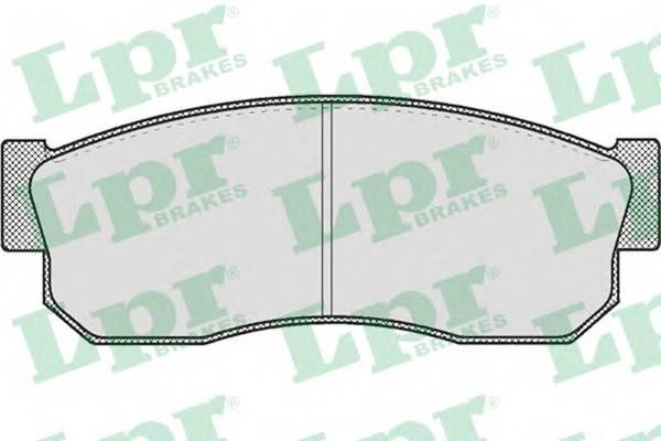 Тормозные колодки Тормозные колодки дисковые LPR арт. 05P185