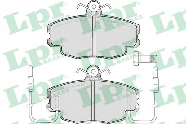Тормозные колодки Тормозные колодки дисковые ABE арт. 05P220