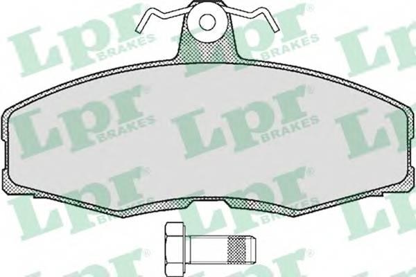 Тормозные колодки SF2347 Тормозные колодки PAGID арт. 05P234