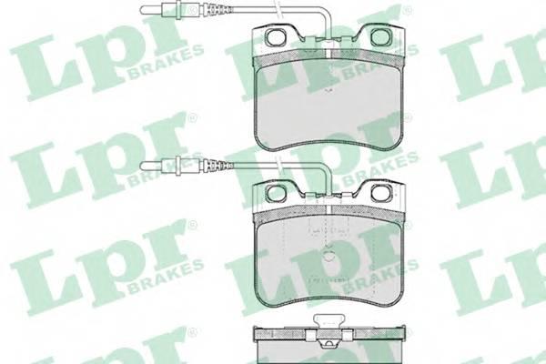Тормозные колодки Тормозные колодки дисковые ABE арт. 05P283