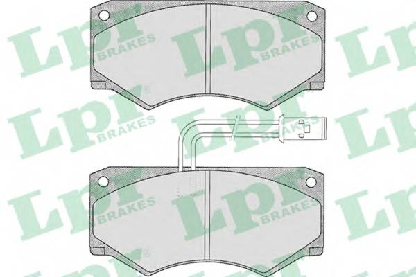 Тормозные колодки Тормозные колодки дисковые ABE арт. 05P292