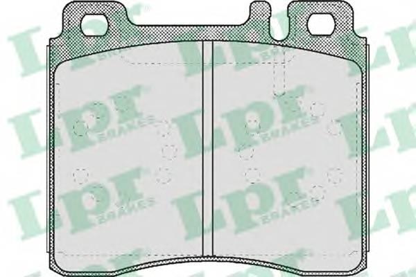 Тормозные колодки Тормозные колодки дисковые PAGID арт. 05P446