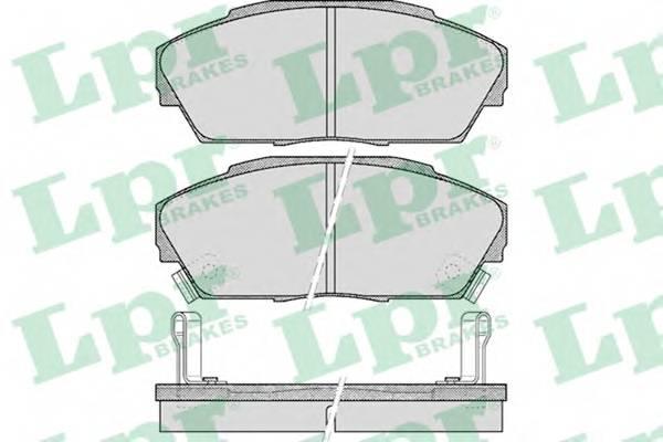 Тормозные колодки Тормозные колодки дисковые PAGID арт. 05P555