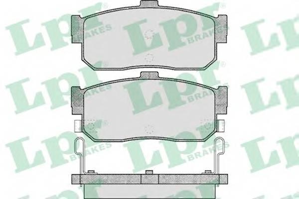 Тормозные колодки SF2826 Тормозные колодки PAGID арт. 05P602