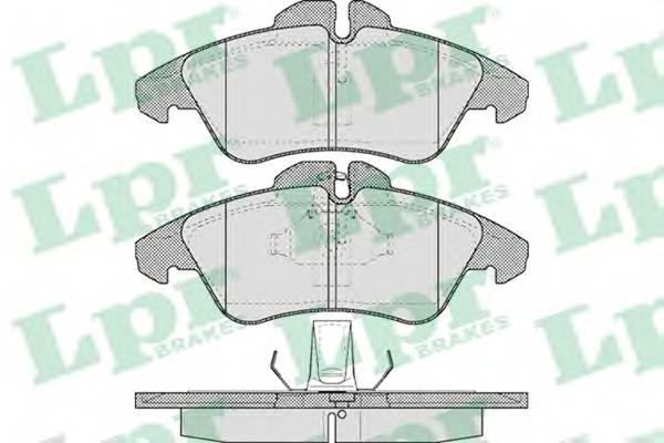 Гальмівні колодки, дискові PAGID арт. 05P608