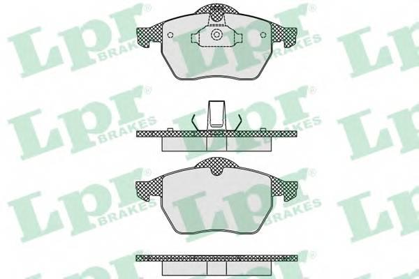 Тормозные колодки Тормозные колодки дисковые PAGID арт. 05P635