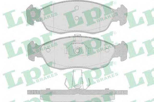 Тормозные колодки Тормозные колодки дисковые PAGID арт. 05P644