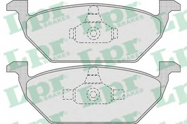 Тормозные колодки Тормозные колодки PAGID арт. 05P730