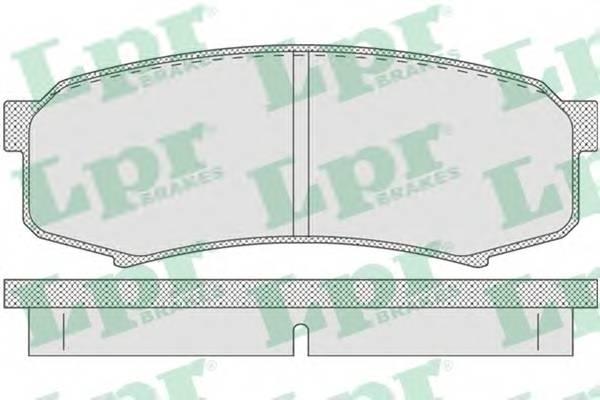 Тормозные колодки Тормозные колодки дисковые PAGID арт. 05P749
