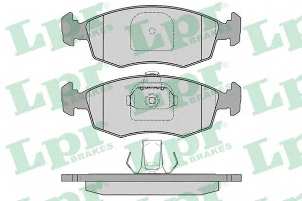 Тормозные колодки Тормозные колодки дисковые ABE арт. 05P785