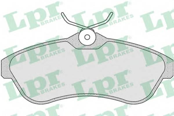 Тормозные колодки Тормозные колодки дисковые PAGID арт. 05P806