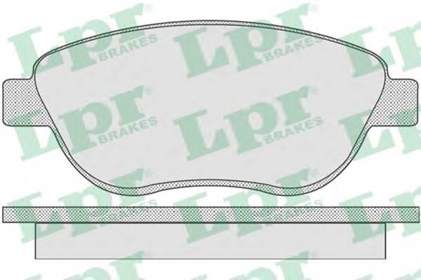 Тормозные колодки Тормозные колодки дисковые ABE арт. 05P807
