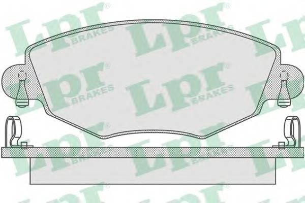 Тормозные колодки Тормозные колодки PAGID арт. 05P865