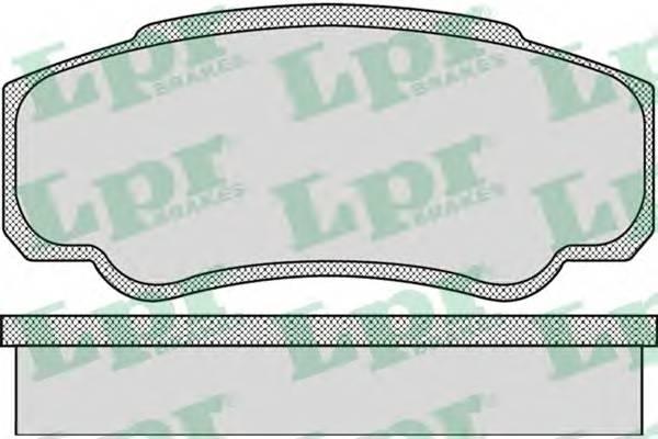 Тормозные колодки Тормозные колодки дисковые PAGID арт. 05P885