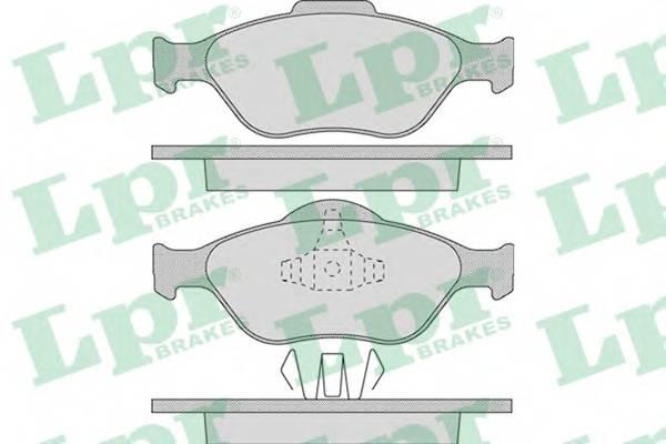 Тормозные колодки Тормозные колодки ABE арт. 05P949