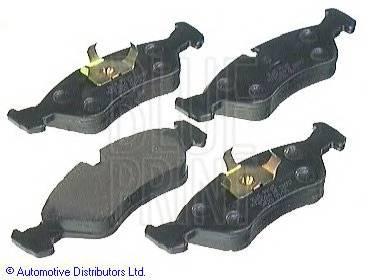 Тормозные колодки Тормозные колодки передние LANOS  1.6i PAGID арт. ADG04204
