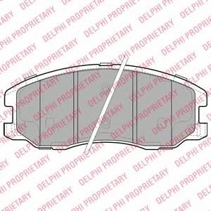 Гальмівні колодки, дискові ABE арт. LP1987