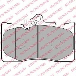 Гальмівні колодки, дискові ABE арт. LP2122