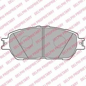 Гальмівні колодки, дискові ABE арт. LP2132