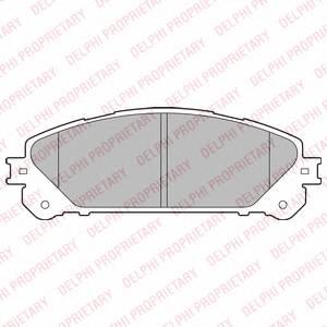Гальмівні колодки, дискові ABE арт. LP2201