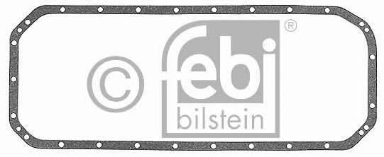 Прокладка масляного пiддона BMW 3/5 (6 cyl) 2,4D/TD (M21) 85- FEBI 12289
