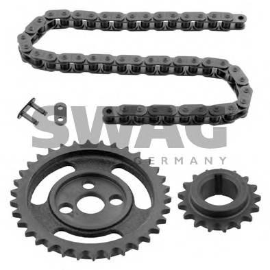 комплект цепи грм ford: ka 1.3i full 96- SWAG 99125159