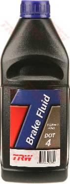 Тормозная жидкость  DOT-4, 1L  TRW PFB401