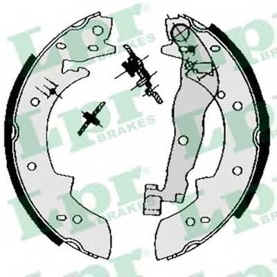 Тормозные колодки Тормозные колодки барабанные PAGID арт. 03330