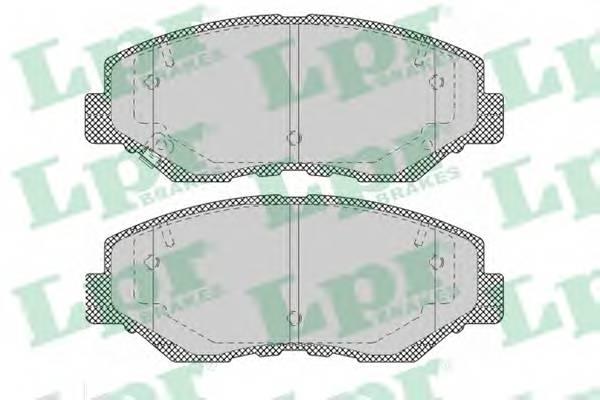 Тормозные колодки Тормозные колодки ABE арт. 05P1364