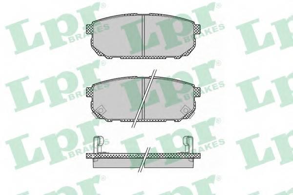 Тормозные колодки Тормозные колодки дисковые PAGID арт. 05P1370