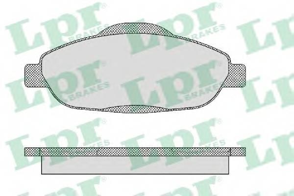 Тормозные колодки Тормозные колодки ABE арт. 05P1471
