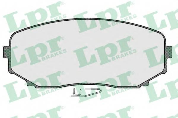 Тормозные колодки Тормозные колодки ABE арт. 05P1573
