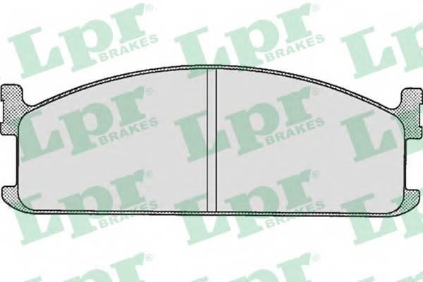 Тормозные колодки SF2411 Тормозные колодки PAGID арт. 05P284