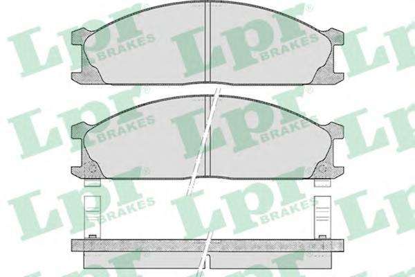 Тормозные колодки Тормозные колодки дисковые PAGID арт. 05P378