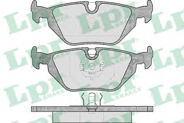 Гальмівні колодки, дискові PAGID арт. 05P463