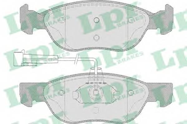 Тормозные колодки SF2753 Тормозные колодки PAGID арт. 05P496