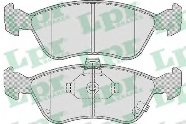 Тормозные колодки Тормозные колодки дисковые ABE арт. 05P709