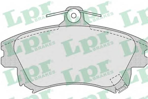 Тормозные колодки Тормозные колодки дисковые ABE арт. 05P711