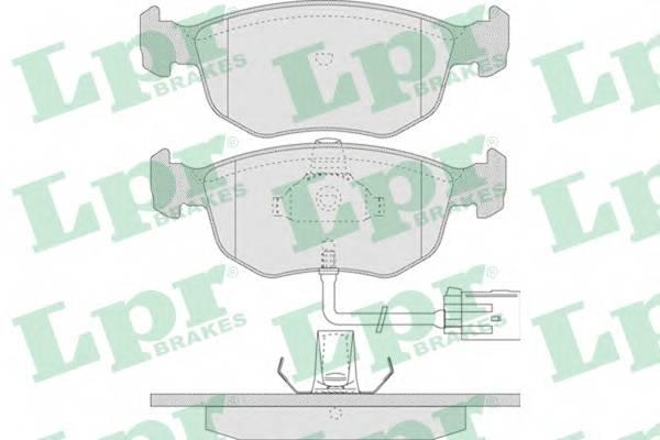 Тормозные колодки Тормозные колодки дисковые PAGID арт. 05P745