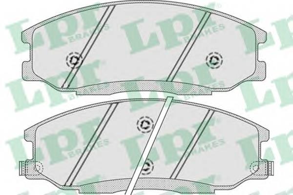 Тормозные колодки Тормозные колодки дисковые PAGID арт. 05P859