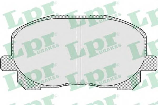 Тормозные колодки Тормозные колодки дисковые ABE арт. 05P904